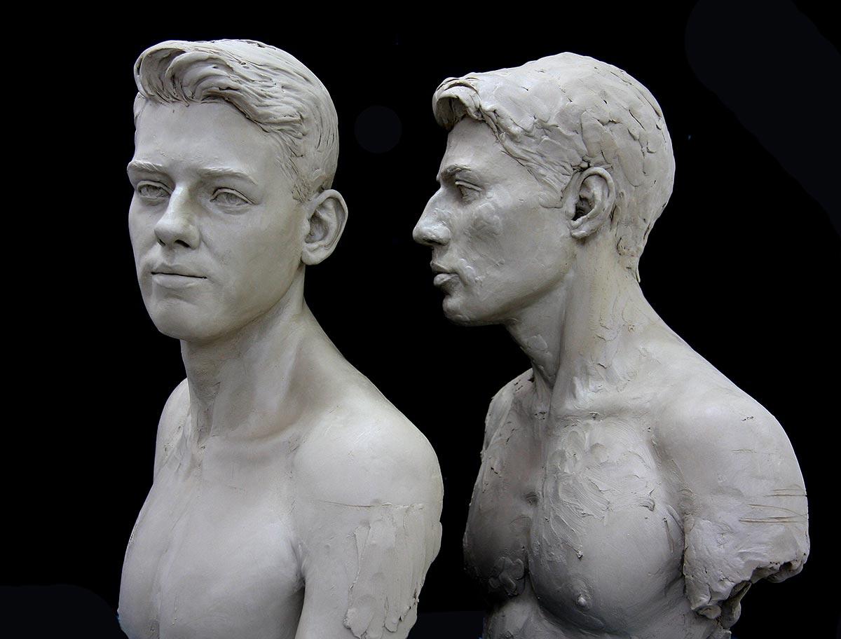 ARLEN & RJ - Sculpture