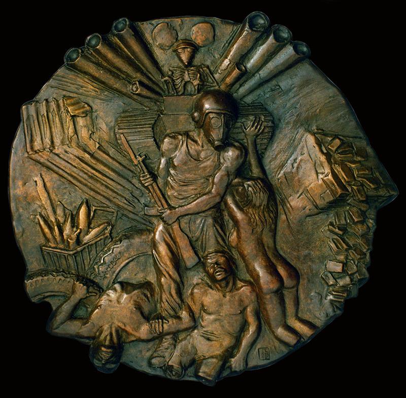 Evils of War - Sculpture