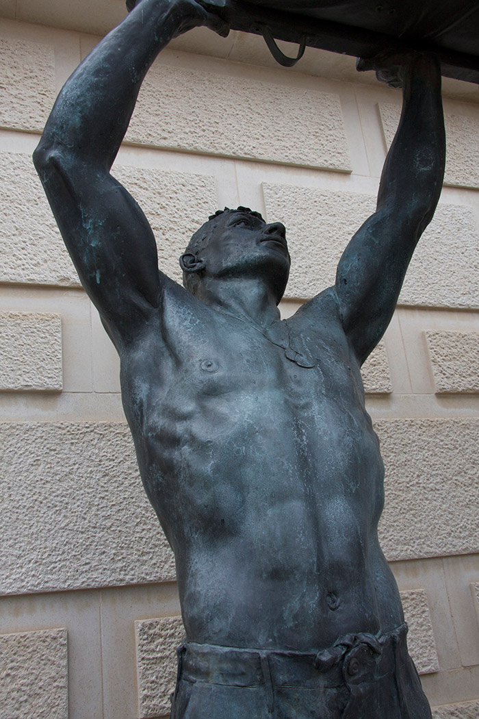 Armed Forces Memorial – The Stretcher Bearers - Sculpture
